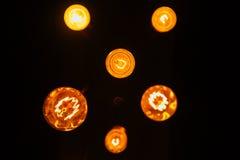 Inomhus ljus Arkivfoto