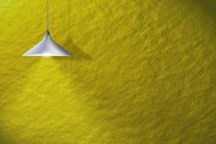 inomhus mer interier lampa för bakgrund Arkivfoto