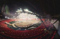 Inomhus moln i Coliseum/, Arkivbild