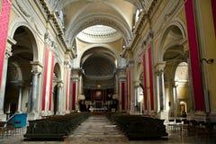 Inomhus Ravenna domkyrka royaltyfri bild