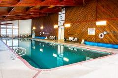 Inomhus simbassäng fotografering för bildbyråer