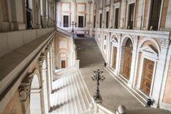 Inomhus slott, Alcazar de Toledo, Spanien Arkivfoton