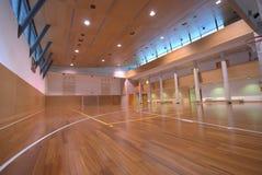 inomhus sport för domstol Arkivbild