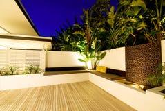 inomhus strömförande utomhus- Fotografering för Bildbyråer