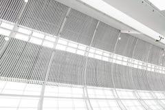inomhus takfönstervägg för glass hight Royaltyfri Fotografi