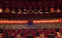 Inomhus teaterplacering Arkivbilder