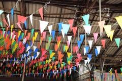 Inomhus Thailand festival arkivbild