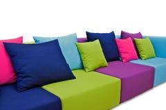 Inomhus utomhus- soffa Royaltyfri Foto