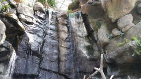 Inomhus vattenfall Royaltyfri Fotografi