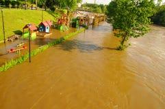Inondation. Image libre de droits