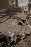 Inondation d'Atrani Image stock