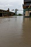 Inondation 2013 de Calgary Images stock