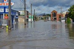 Inondation 2013 de Calgary Photographie stock