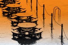 inondation de dommages Images libres de droits