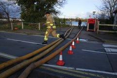 2014 inondations BRITANNIQUES Photo stock