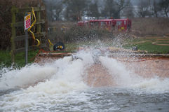 2014 inondations BRITANNIQUES Image stock