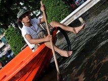 Inondations de Bangkok Photographie stock