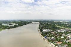 Inondations de la Thaïlande Photographie stock libre de droits