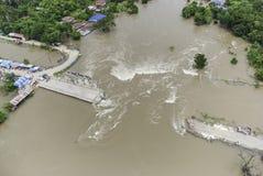Inondations de la Thaïlande Photos libres de droits