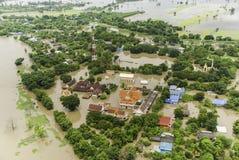 Inondations de la Thaïlande Photo stock