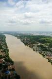Inondations de la Thaïlande, catastrophe naturelle, Images libres de droits
