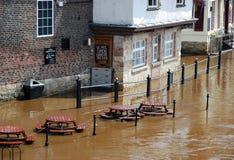 Inondations de York Images libres de droits