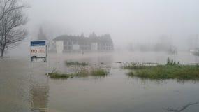 Inondazione Fotografie Stock