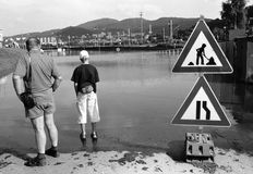 Inondazione fotografie stock libere da diritti