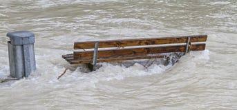 Inondazione 2013 Fotografie Stock