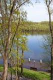 Inondazione della primavera Fotografia Stock
