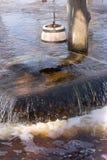 Inondazione della sorgente Fotografia Stock Libera da Diritti