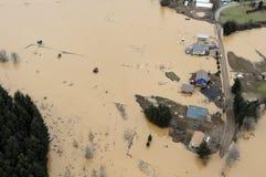 Inondazione dello Stato del Washington Fotografia Stock Libera da Diritti