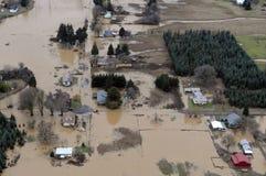 Inondazione dello Stato del Washington Fotografie Stock