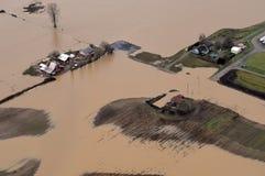 Inondazione dello Stato del Washington Immagine Stock Libera da Diritti