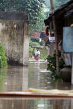Inondazione dentro da solo Immagine Stock Libera da Diritti