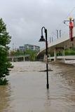 Inondazione 2013 di Calgary Fotografie Stock Libere da Diritti