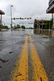 Inondazione 2013 di Calgary Immagini Stock