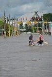 Inondazione 2013 di Calgary Fotografie Stock