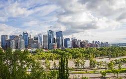Inondazione 2013 di Calgary Fotografia Stock