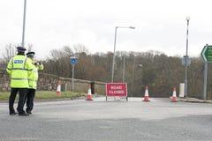 Inondazione di Workington Fotografia Stock Libera da Diritti
