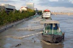 Inondazione nella capitale Fotografie Stock Libere da Diritti