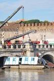 Inondazione a Roma Fotografie Stock Libere da Diritti