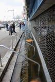 Inondazione serio nelle costruzioni Immagini Stock Libere da Diritti