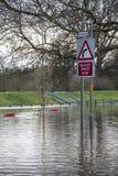 Inondazione - Yorkshire - dell'Inghilterra Immagine Stock