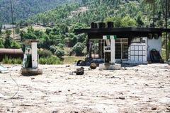 Inondazioni del Pakistan e valutazione di Buner Fotografie Stock Libere da Diritti