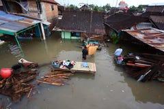 Inondazioni dentro da solo Fotografia Stock
