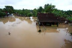 Inondazioni dentro da solo Immagine Stock