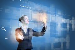 Inovações da tecnologia Imagem de Stock Royalty Free