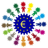 Inovações do negócio em Europa Imagens de Stock Royalty Free