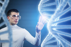 Inovações para a ciência e a medicina Meios mistos Imagem de Stock